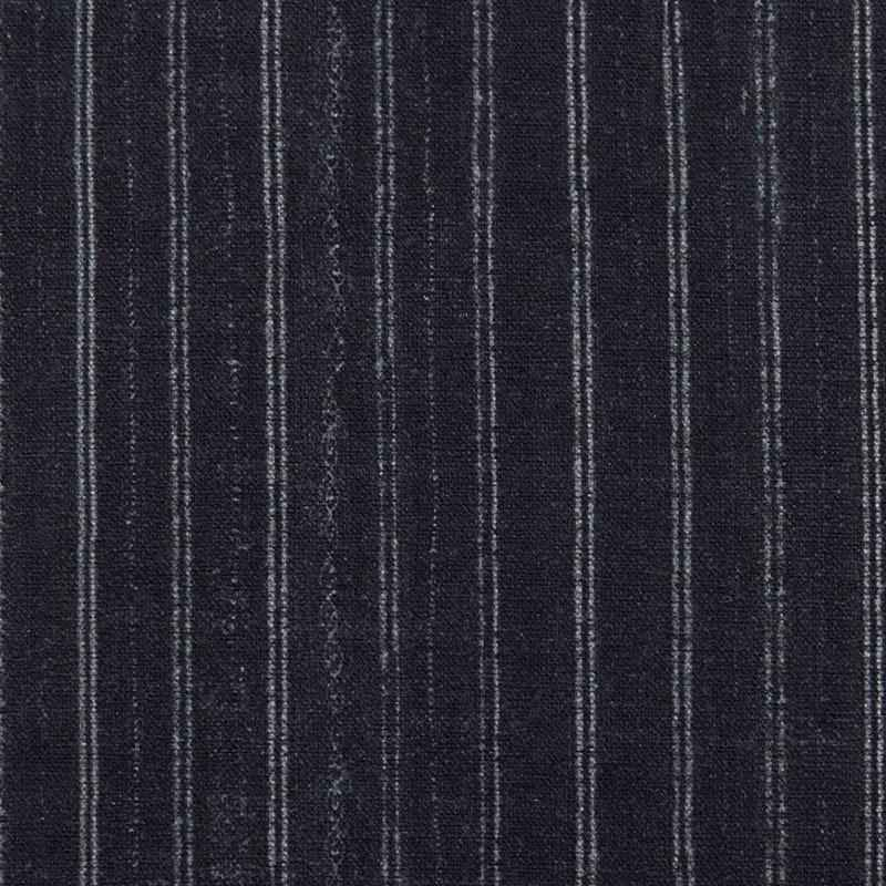 Grade H: Bengal Pin Stripe Charcoal by Swatches