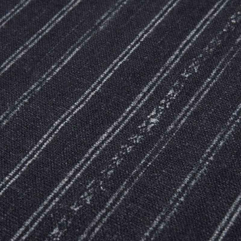 Grade H: Bengal Pin Stripe Indigo by Swatches