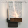 Fortis Carrara Marble Sconce by Cerno