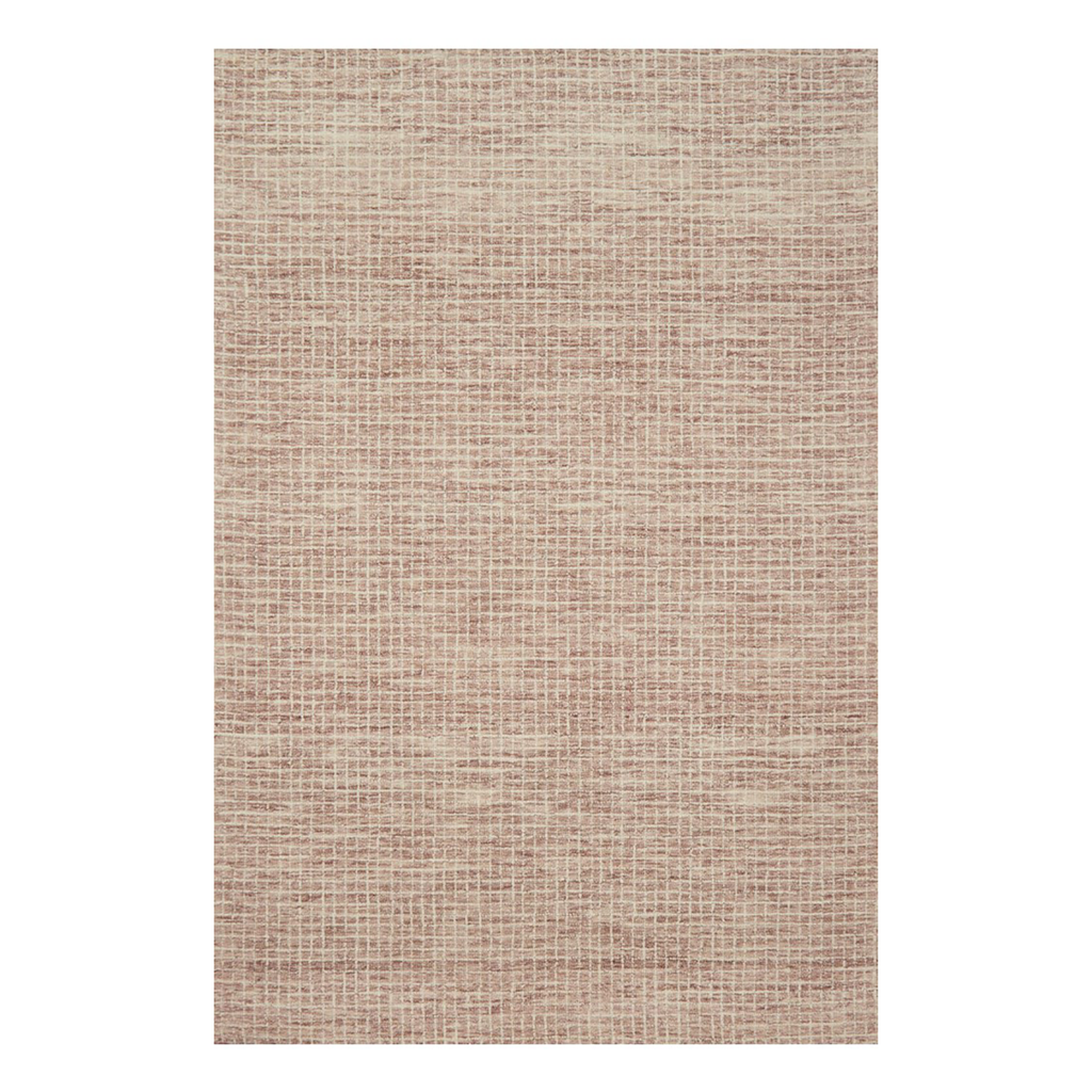 Giana Hooked Area Rug in Blush by Loloi