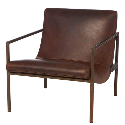 Griffin Leather Chair - Urban Natural Home Furnishings.  Living Room Chair, Cisco Brothers