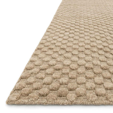 Hadley Hand Loomed Area Rug in Dune by Loloi