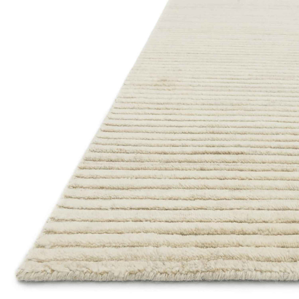 Hadley Hand Loomed Area Rug in Ivory by Loloi
