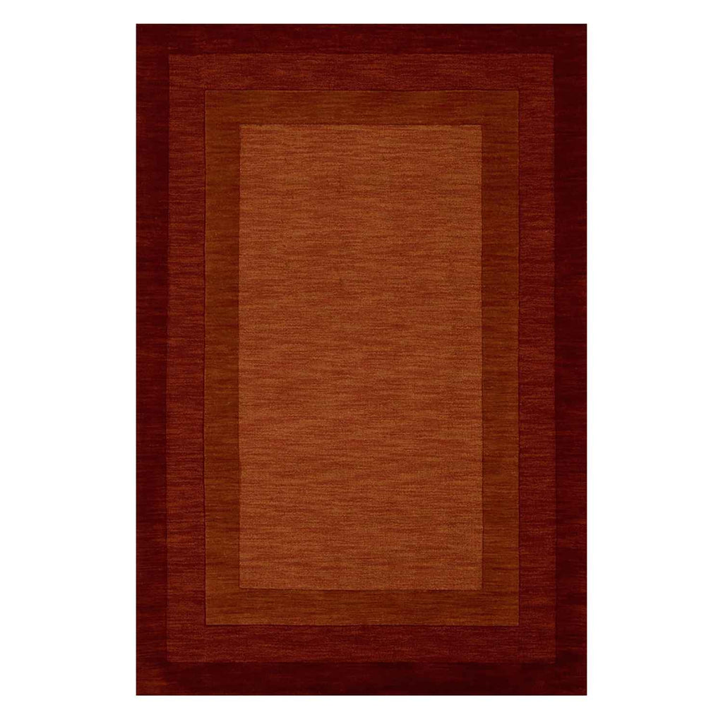 Hamilton Hand Loomed Area Rug in Rust by Loloi