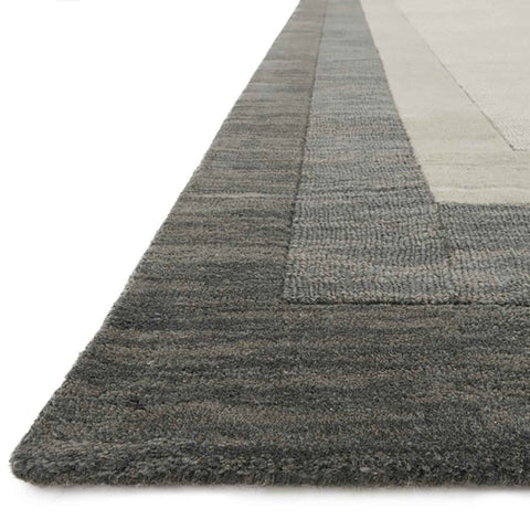 Hamilton Hand Loomed Area Rug in Slate by Loloi