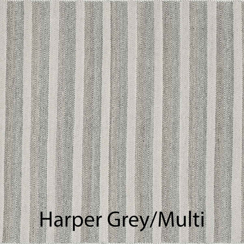 Harper Hand Woven Area Rug in Grey / Multi Sample