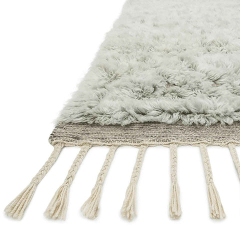 Hygge Hand Loomed Area Rug in Grey / Mist by Loloi