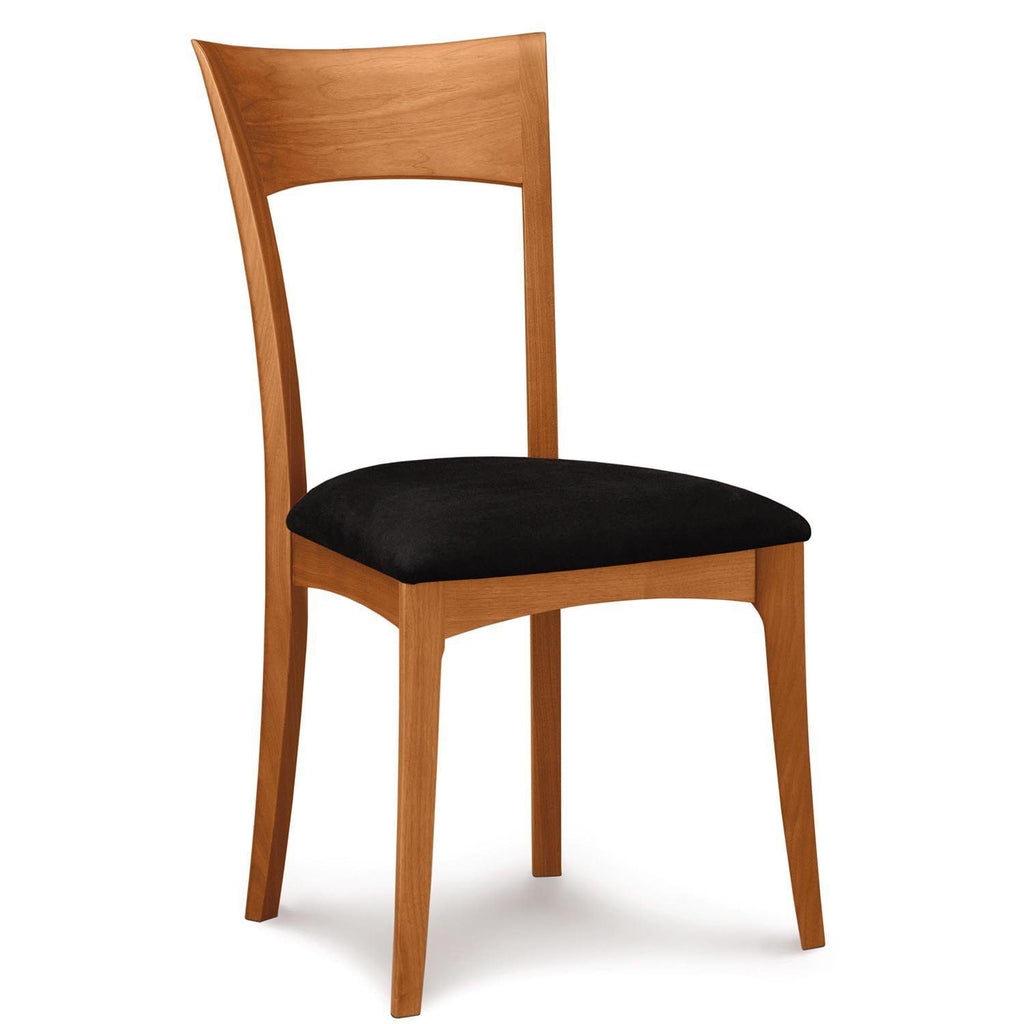 Ingrid Sidechair in Cherry with Upholstery - Urban Natural Home Furnishings.  Dining Chair, Copeland