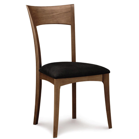 Ingrid Sidechair in Walnut with Upholstery - Urban Natural Home Furnishings.  Dining Chair, Copeland