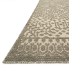 Java Hand Knotted Area Rug in Silver by Loloi