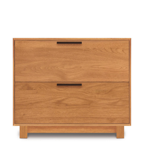 Linear File Cabinet in Cherry
