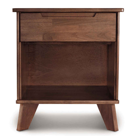 Linn One Drawer Nightstand in Walnut