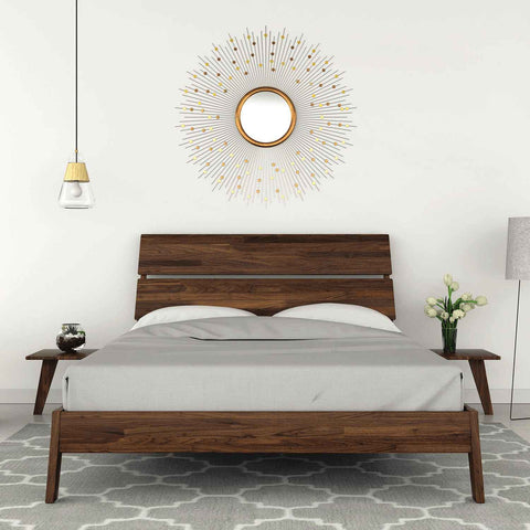 Linn Bed in Walnut