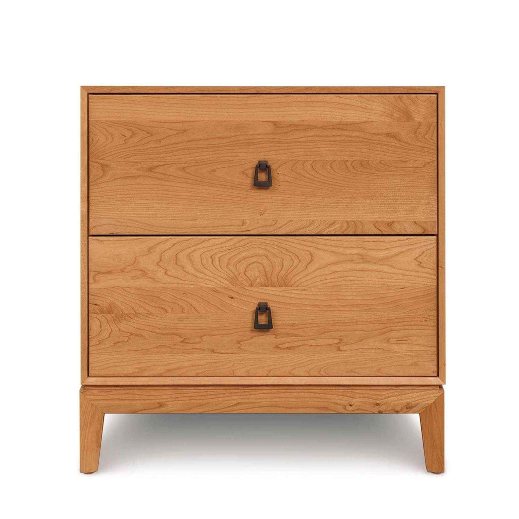 Mansfield Two Drawer Nightstand - Urban Natural Home Furnishings.  Dressers & Armoires, Copeland