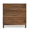 Mansfield Four Drawer Dresser in Walnut