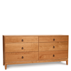Mansfield Six Drawer Dresser by Copeland
