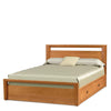 Mansfield Storage Bed in Cherry