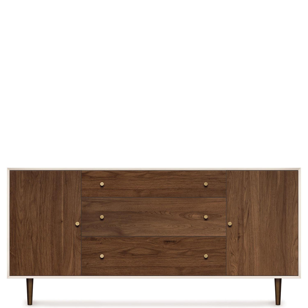 MiMo Storage Cabinet 1 Door on either side of 3 Drawers by Copeland