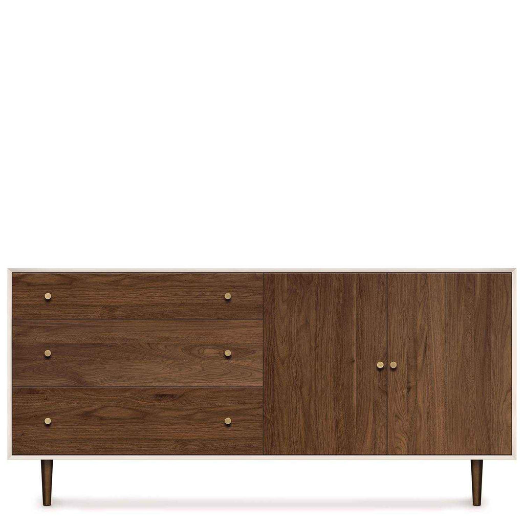 MiMo Storage Cabinet 3 Drawers Left, 2 Doors Right - Urban Natural Home Furnishings.  Dressers & Armoires, Copeland