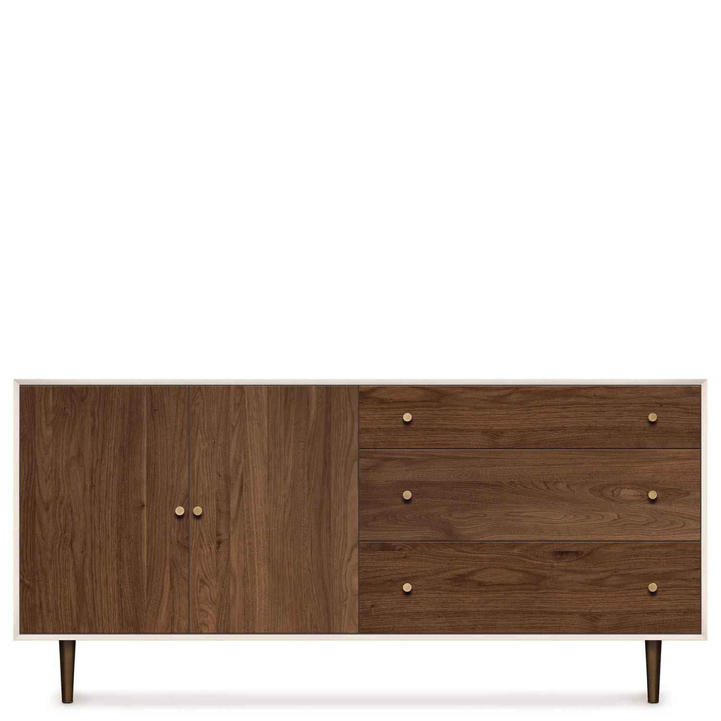MiMo Storage Cabinet 3 Drawers Right, 2 Doors Left - Urban Natural Home Furnishings.  dressers & Armoires, Copeland