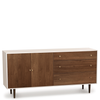 MiMo Storage Cabinet 3 Drawers Right, 2 Doors Left by Copeland