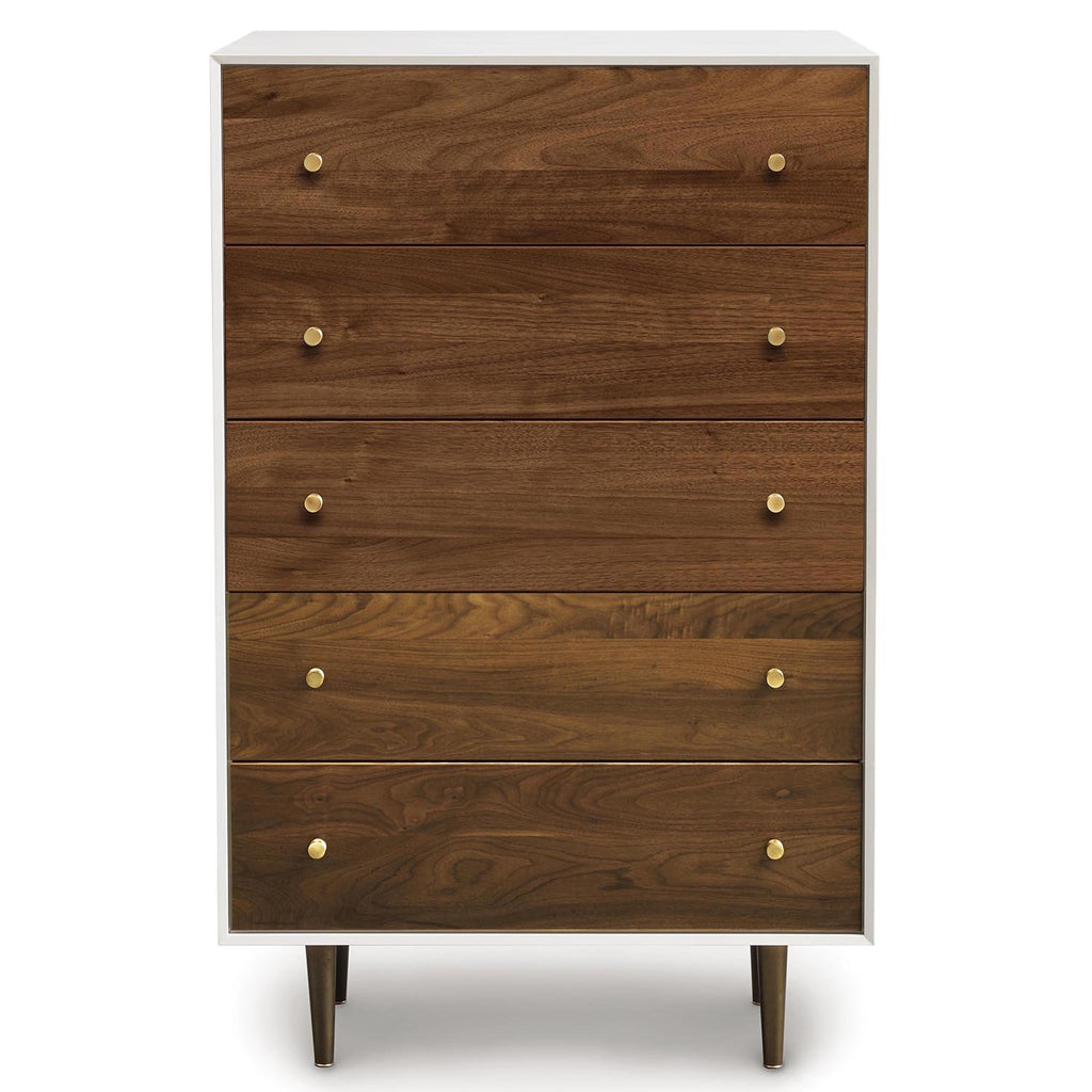 MiMo 5 Drawer Chest Wide - Urban Natural Home Furnishings.  Dressers & Armoires, Copeland