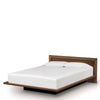 Moduluxe Bed With Veneer Headboard by Copeland