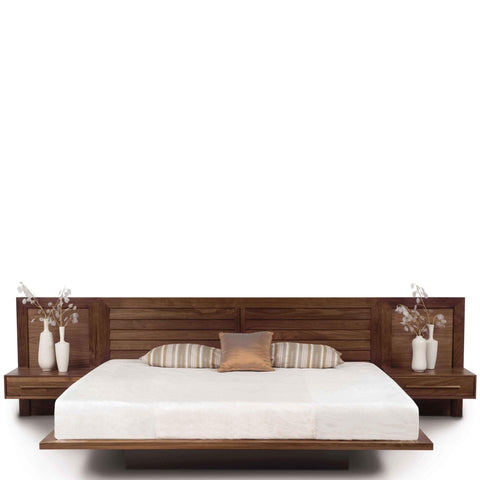 Moduluxe Storage Bed With Clapboard Headboard - Urban Natural Home Furnishings.  , Urban Natural Home Furnishings