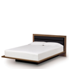 "Moduluxe Bed 35"" With Fabric Upholstered Headboard by Copeland"