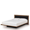 Moduluxe Bed With Leather Upholstered Headboard by Copeland
