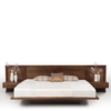 Moduluxe Bed With Clapboard Headboard by Copeland