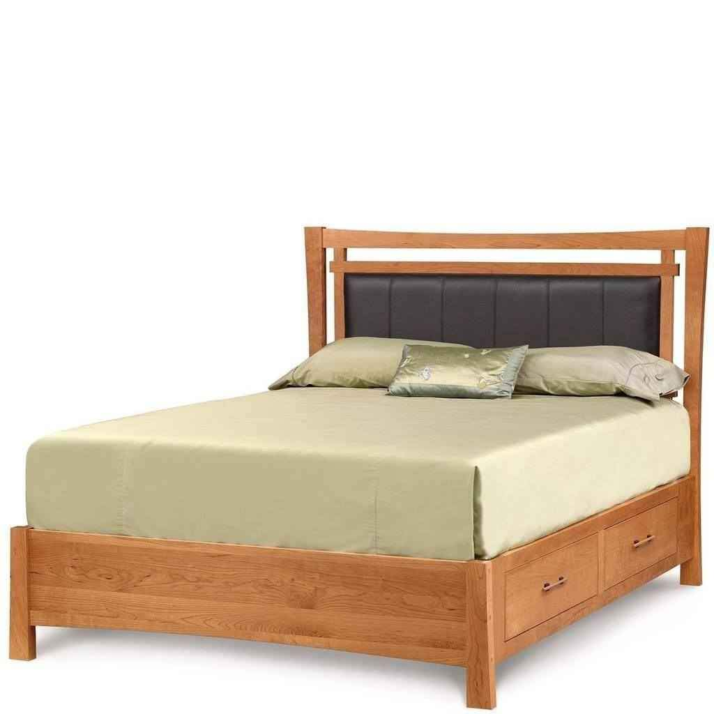 Monterey Storage Bed With Upholstered Panel - Urban Natural Home Furnishings.  Bed, Copeland