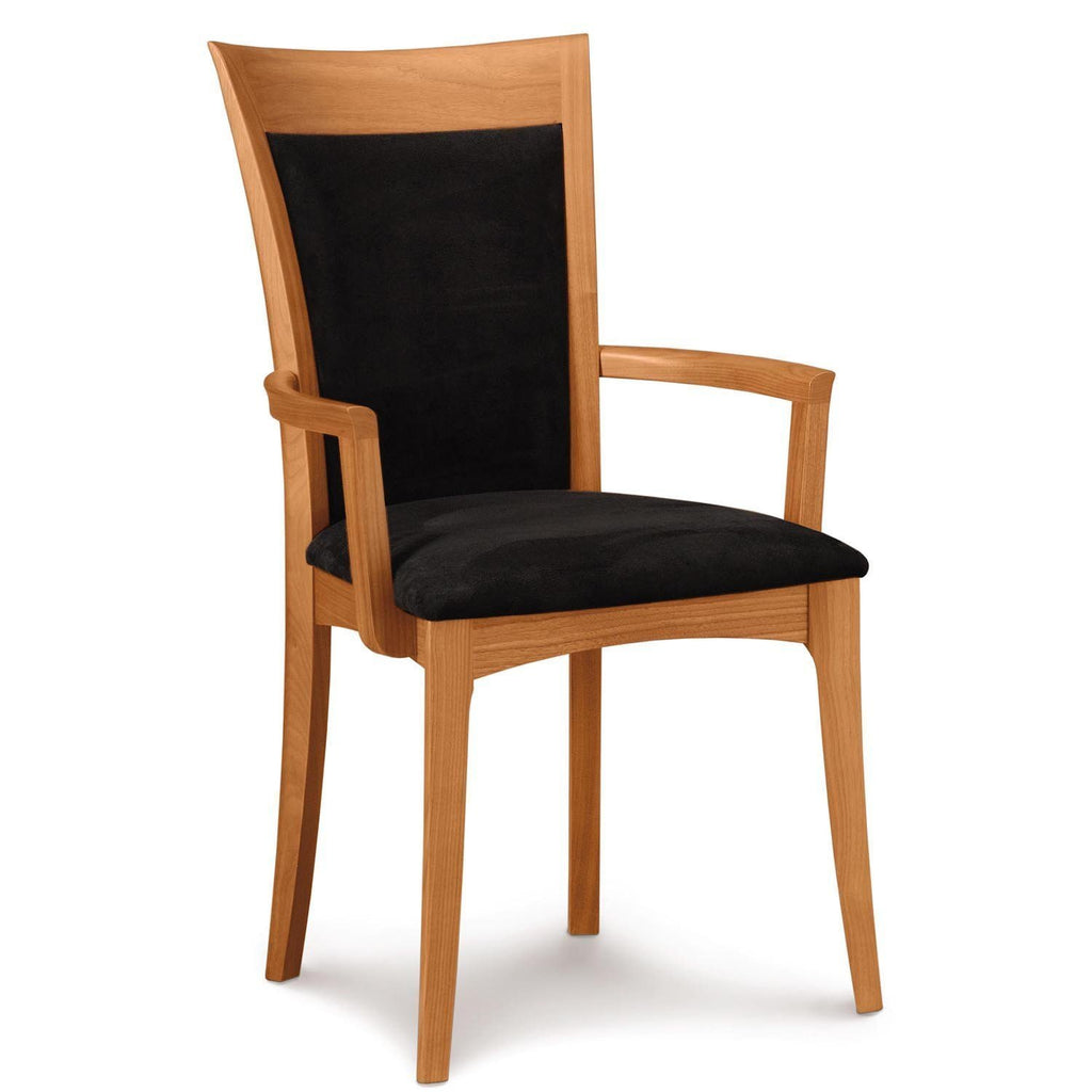 Morgan Armchair in Cherry with Upholstery - Urban Natural Home Furnishings.  Dining Chair, Copeland