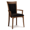 Morgan Armchair with Upholstery in Walnut by Copeland