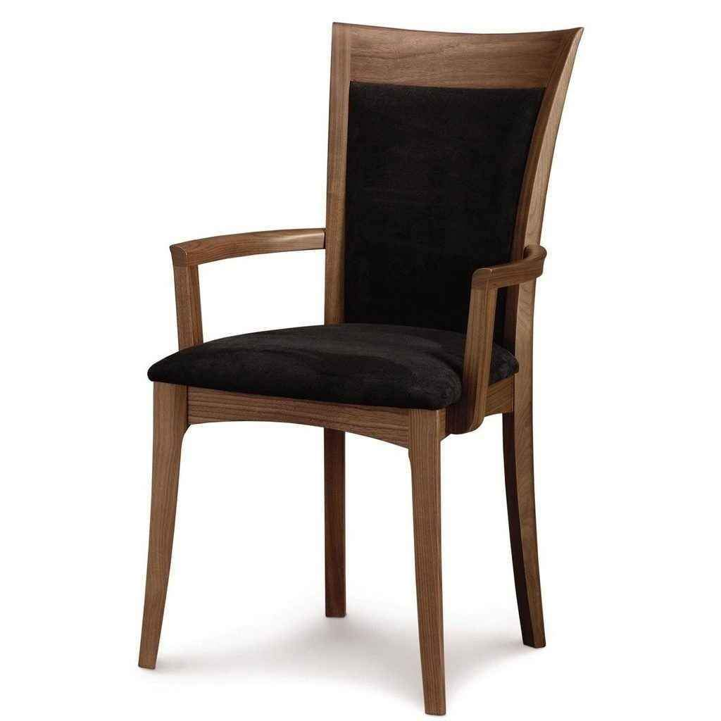 Morgan Armchair in Walnut with Upholstery by Copeland