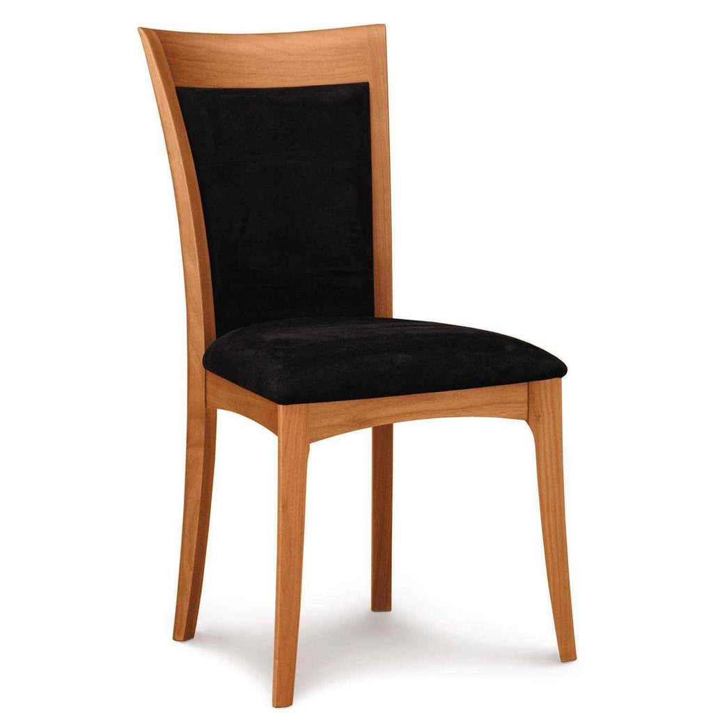 Morgan Sidechair in Cherry with Upholstery - Urban Natural Home Furnishings.  Dining Chair, Copeland