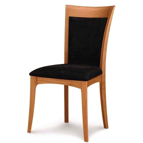 Morgan Sidechair in Cherry with Upholstery by Copeland