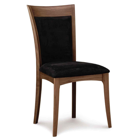 Morgan Sidechair in Walnut with Upholstery - Urban Natural Home Furnishings.  Dining Chair, Copeland