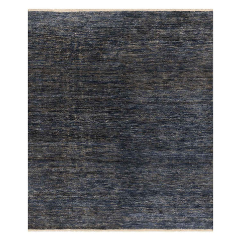 Quinn Hand Knotted Area Rug in Indigo