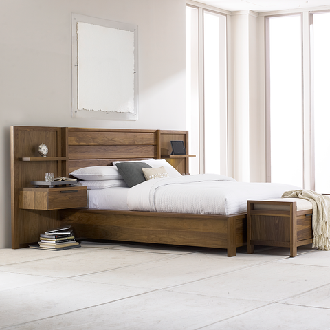 Phase Wood Panel Bed by West Bros
