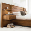 Phase Wood Panel Bed with Storage by West Bros