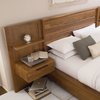 Phase Wood Panel Bed with Storage