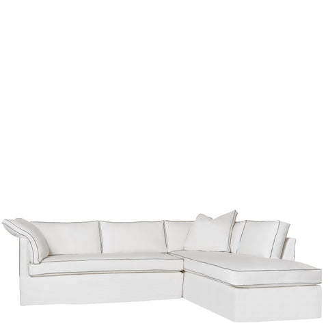 Renata Sectional Slipcovered by Cisco Brothers