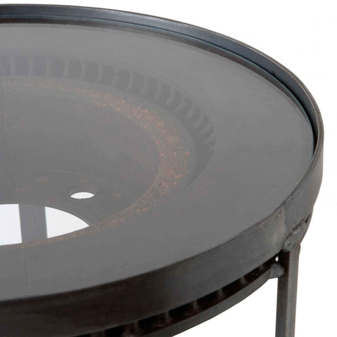 Rotor Side Table - Urban Natural Home Furnishings.  Nightstands, Cisco Brothers