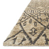 Sahara Hand Knotted Area Rug in Sand by Loloi