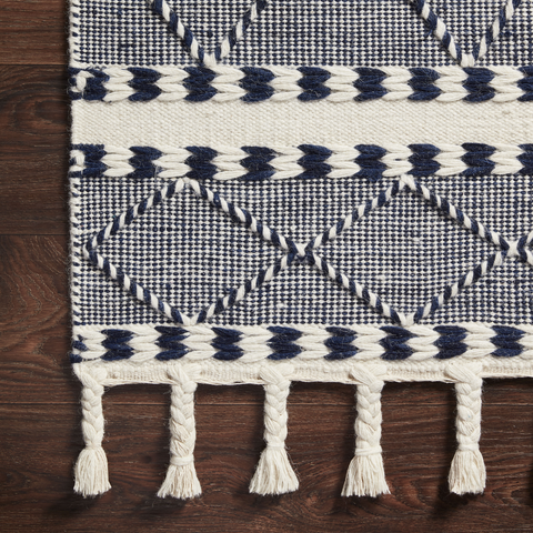 Sawyer Hand Loomed Rug in Navy