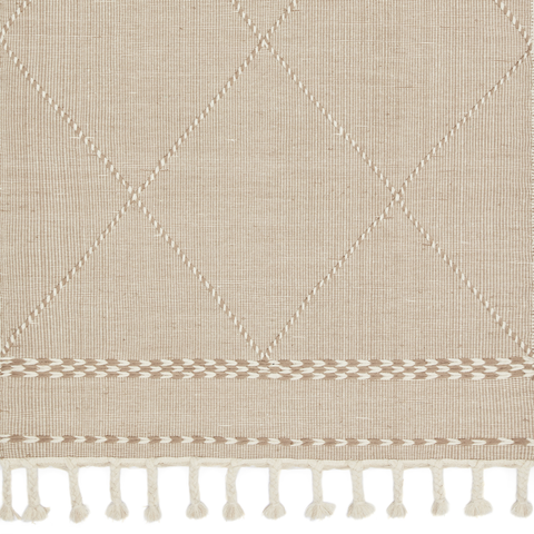 Sawyer Hand Loomed Area Rug in Sand Sample