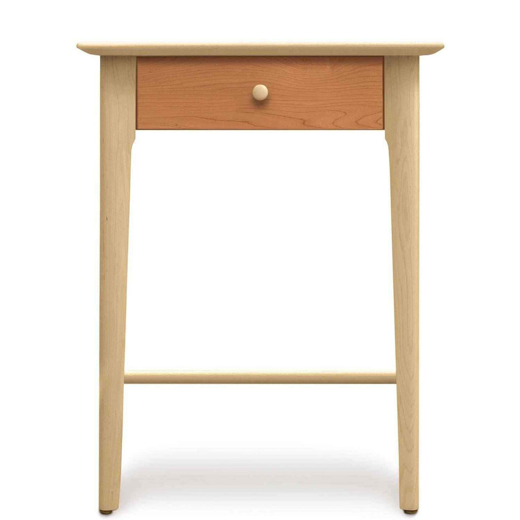 Sarah One Drawer Tall Nightstand in Maple/Cherry - Urban Natural Home Furnishings.  Nightstands, Copeland
