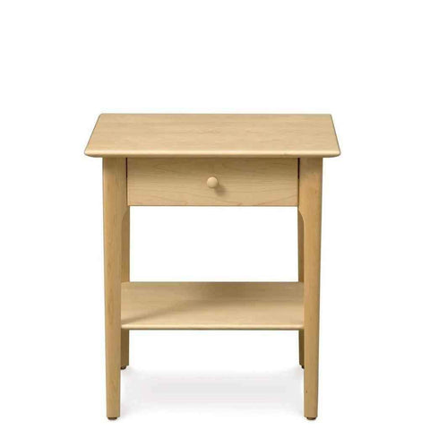 Sarah One Drawer Nightstand in Maple - Urban Natural Home Furnishings.  Nightstands, Copeland