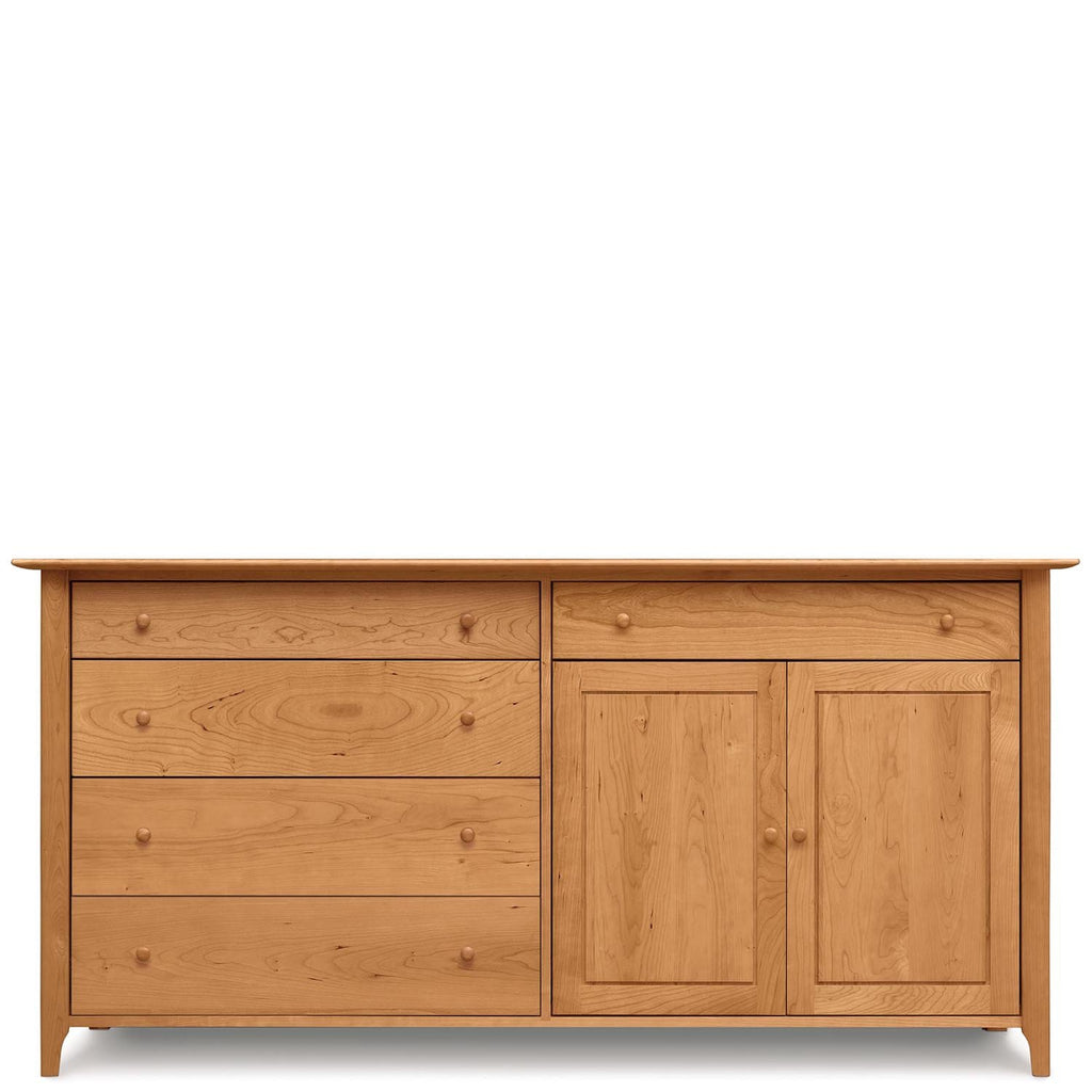 Sarah 4 Drawers on Left 1 Drawer Over 2 doors on Right Buffet - Urban Natural Home Furnishings.  Buffet, Copeland